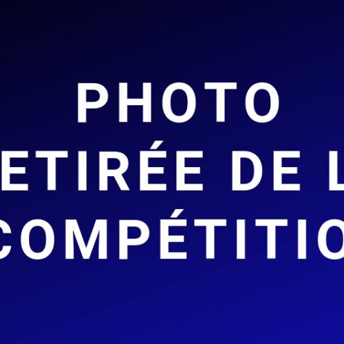 Photo retirée de la compétition